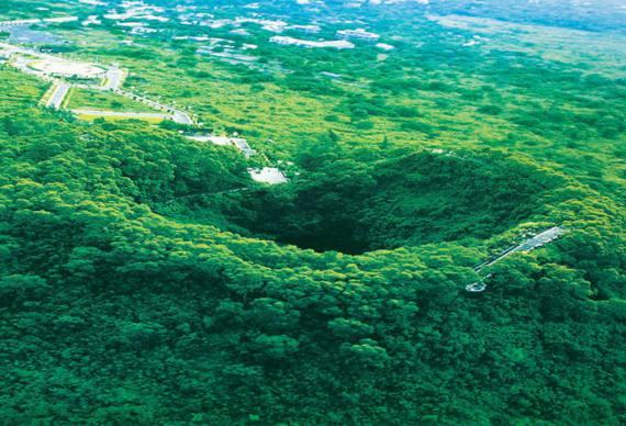 火山口地质公园门票